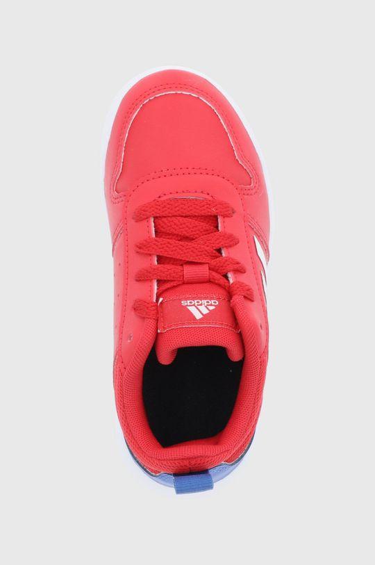 czerwony adidas - Buty dziecięce Tensaur