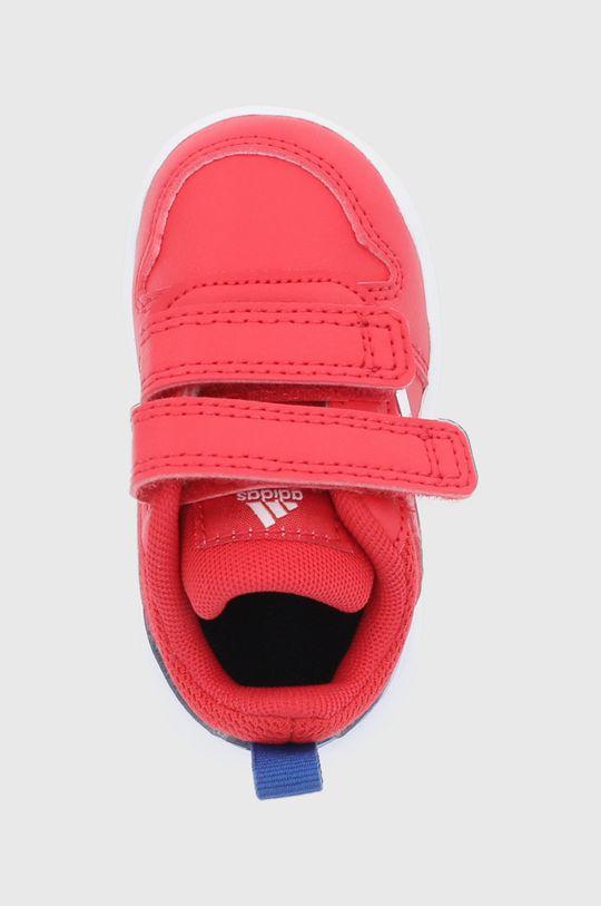 červená adidas - Dětské boty Tensaur I