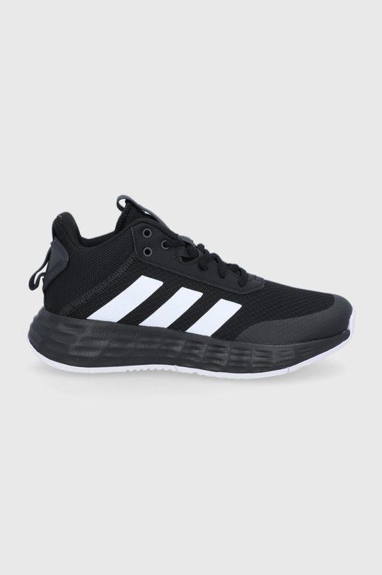 čierna adidas - Detské topánky Ownthegame 2.0 Chlapčenský