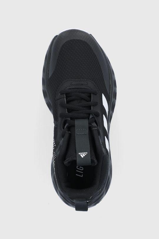 čierna adidas - Detské topánky Ownthegame 2.0