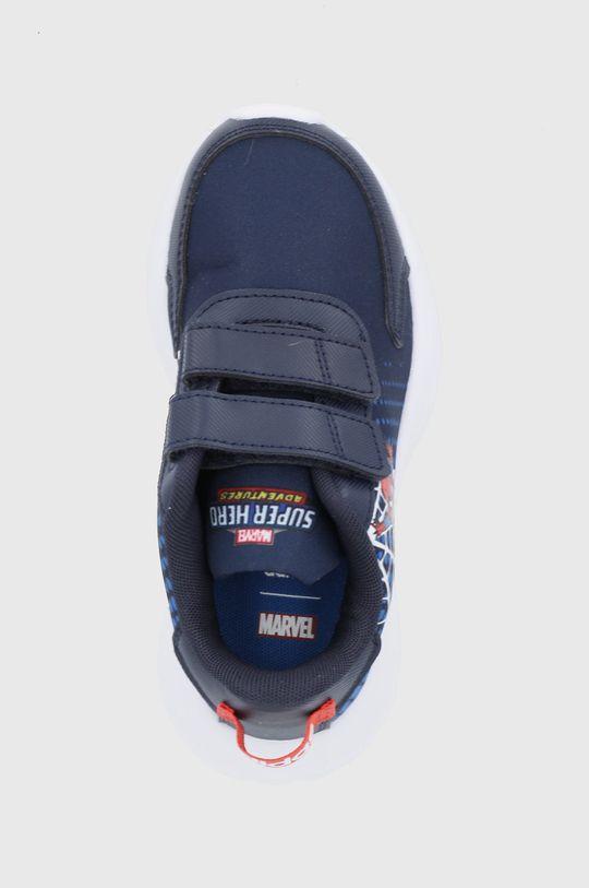granatowy adidas - Buty dziecięce Tensaur Run x Marvel