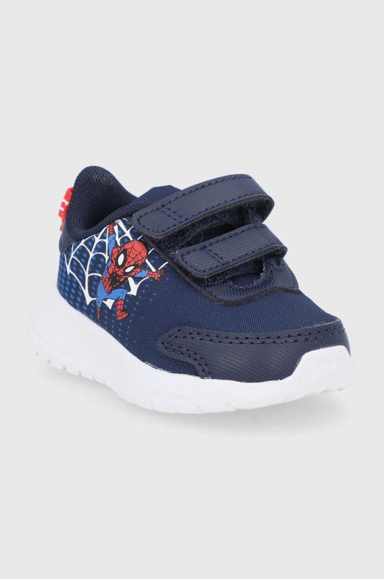 adidas - Buty dziecięce Tensaur Run I x Marvel granatowy