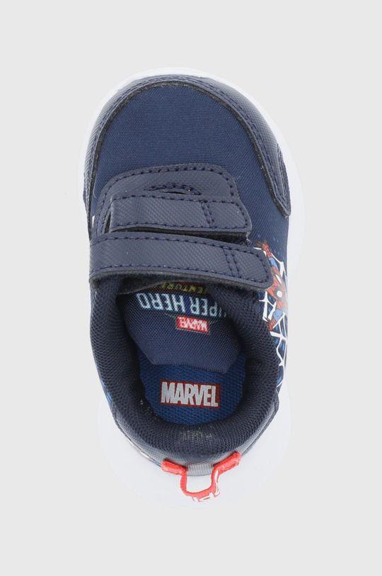 granatowy adidas - Buty dziecięce Tensaur Run I x Marvel