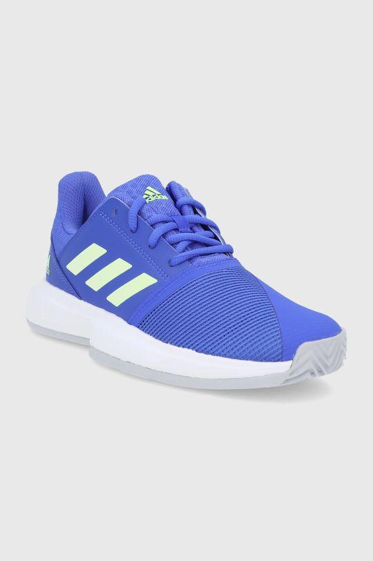 Adidas Performance - Buty dziecięce CourtJam fioletowy