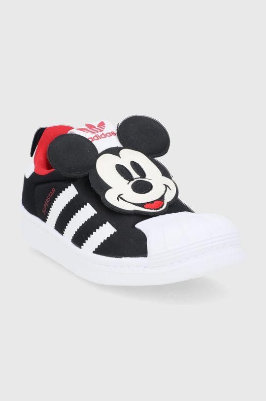 adidas Originals - Dětské boty Superstar 360 x Disney černá