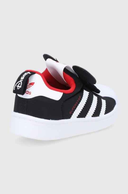 adidas Originals - Dětské boty Superstar 360 x Disney  Svršek: Umělá hmota, Textilní materiál Vnitřek: Textilní materiál Podrážka: Umělá hmota