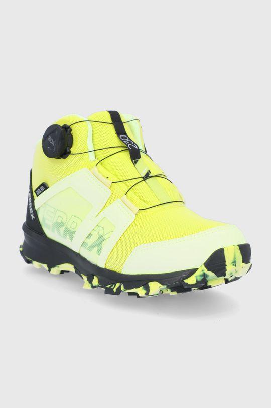 adidas Performance - Buty Terrex Boa Mid żółty