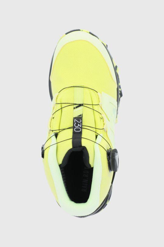 żółty adidas Performance - Buty Terrex Boa Mid