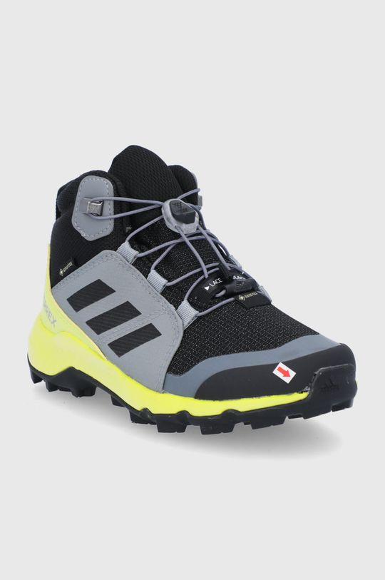 Adidas Performance - Buty dziecięce Terrex Mid GTX szary