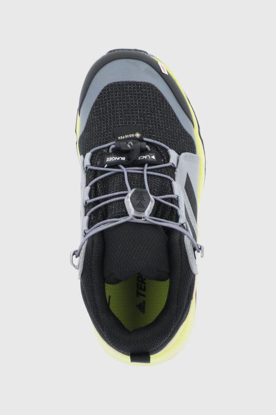 szary Adidas Performance - Buty dziecięce Terrex Mid GTX