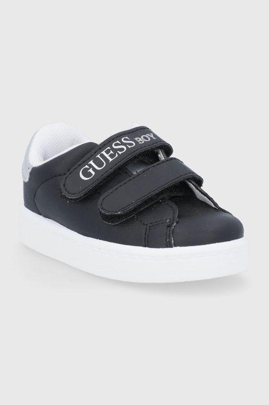 Guess - Buty dziecięce czarny