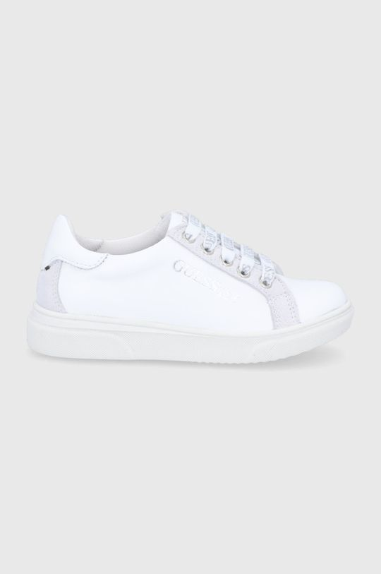 fehér Guess - Gyerek bőrcipő Fiú