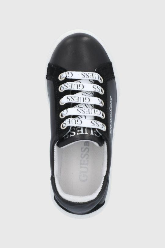 fekete Guess - Gyerek bőrcipő