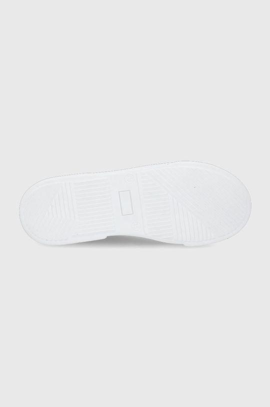 Guess - Dětské kožené boty Chlapecký