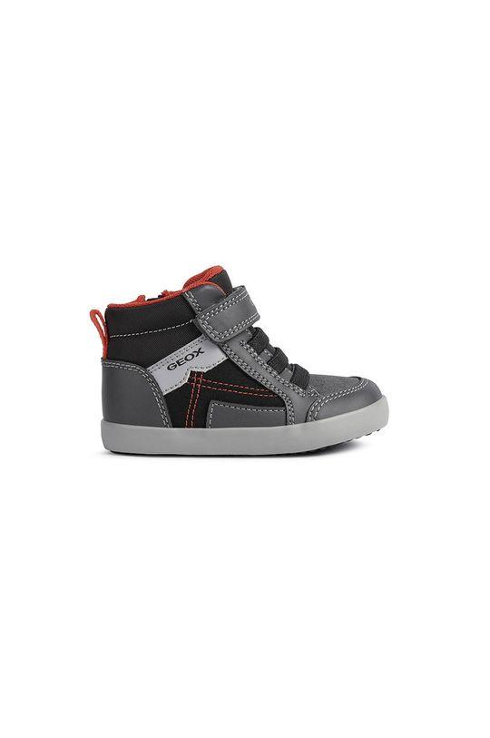 sivá Geox - Detské topánky Chlapčenský