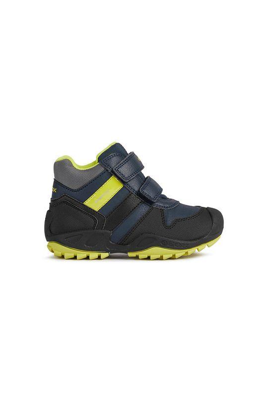 σκούρο μπλε Geox - Παιδικά παπούτσια Για αγόρια