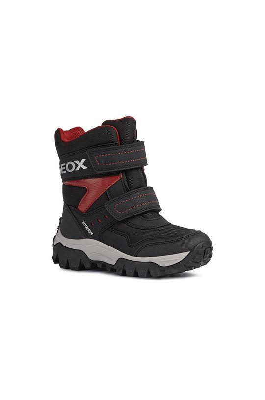 Geox - Śniegowce dziecięce czarny