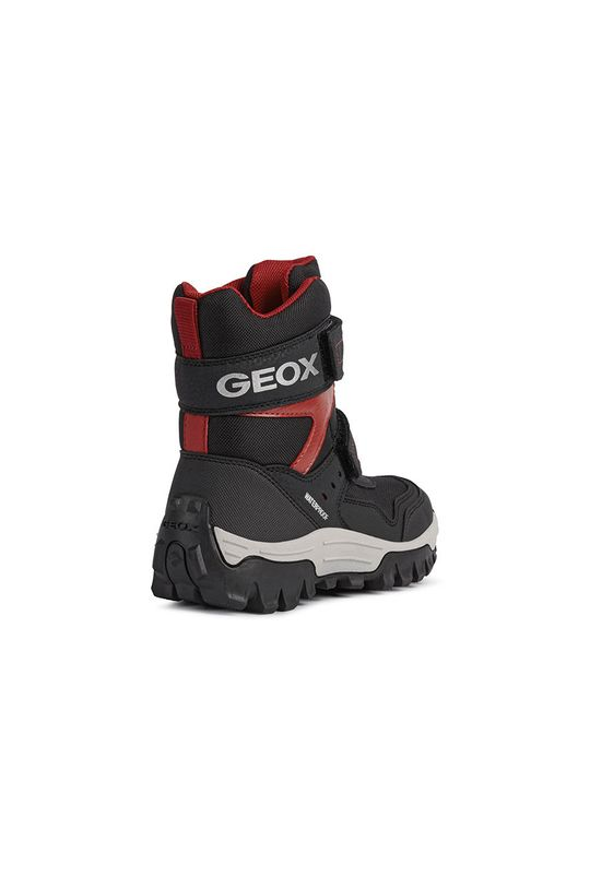 czarny Geox - Śniegowce dziecięce