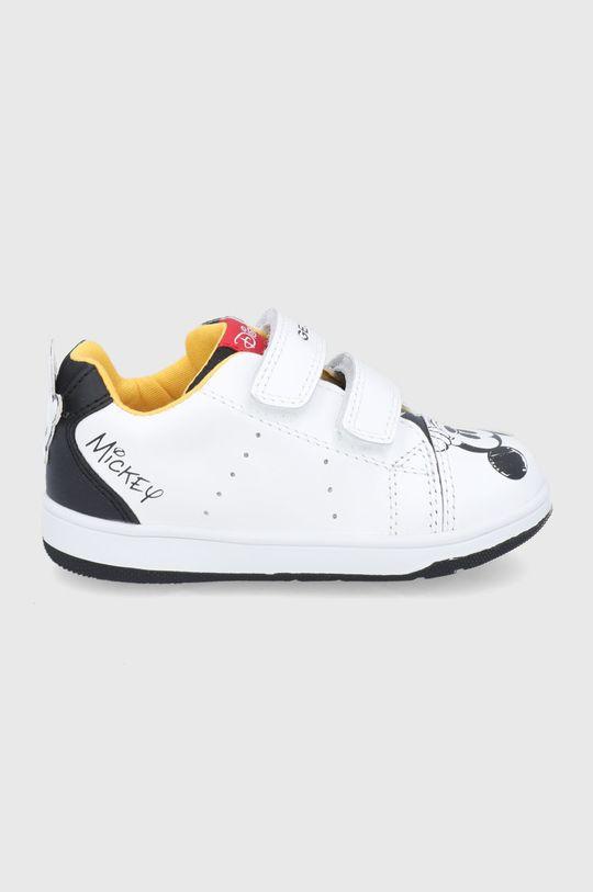 biela Geox - Detské topánky Chlapčenský
