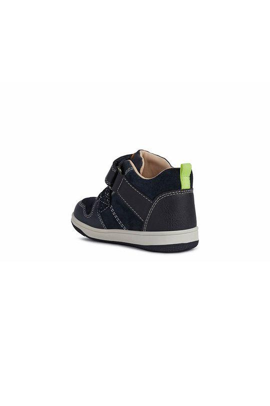 Geox - Detské topánky  Zvršok: Syntetická látka, Semišová koža Vnútro: Textil Podrážka: Syntetická látka