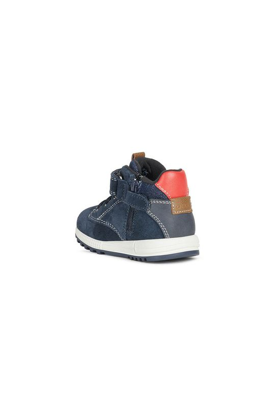 Geox - Παιδικά παπούτσια  Πάνω μέρος: Υφαντικό υλικό, Δέρμα σαμουά Εσωτερικό: Υφαντικό υλικό, Φυσικό δέρμα Σόλα: Συνθετικό ύφασμα
