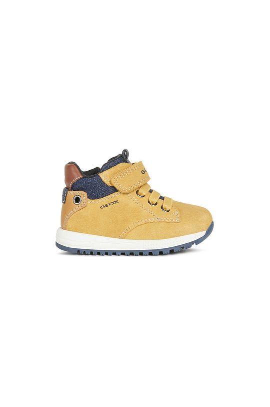jantárová Geox - Detské topánky Chlapčenský