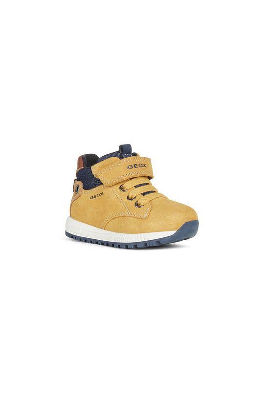 Geox - Detské topánky jantárová