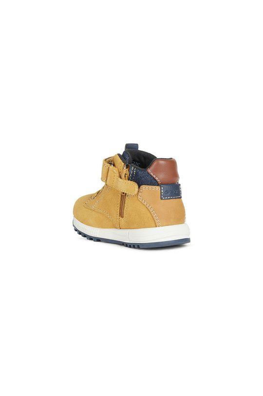 Geox - Detské topánky  Zvršok: Textil, Semišová koža Vnútro: Textil Podrážka: Syntetická látka