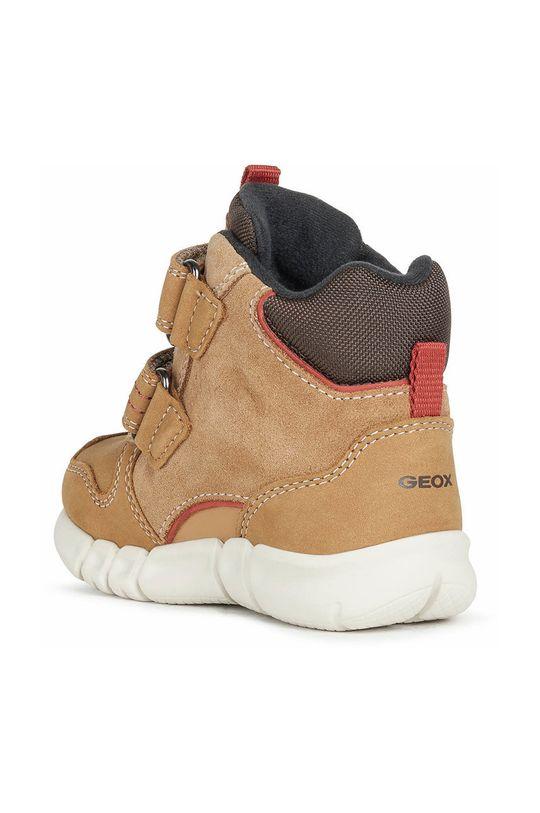 Geox - Παιδικά παπούτσια  Πάνω μέρος: Υφαντικό υλικό, Φυσικό δέρμα Εσωτερικό: Υφαντικό υλικό Σόλα: Συνθετικό ύφασμα