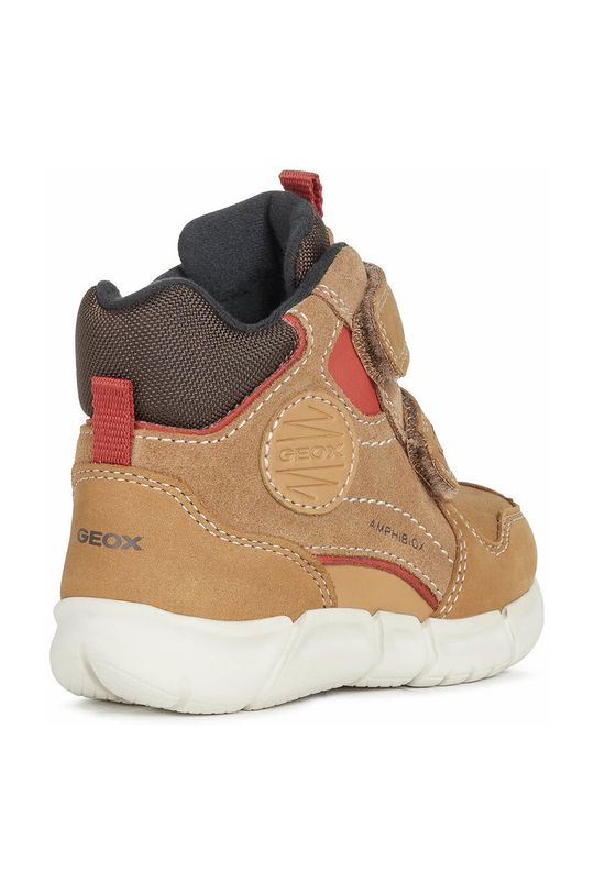 χρυσό καφέ Geox - Παιδικά παπούτσια