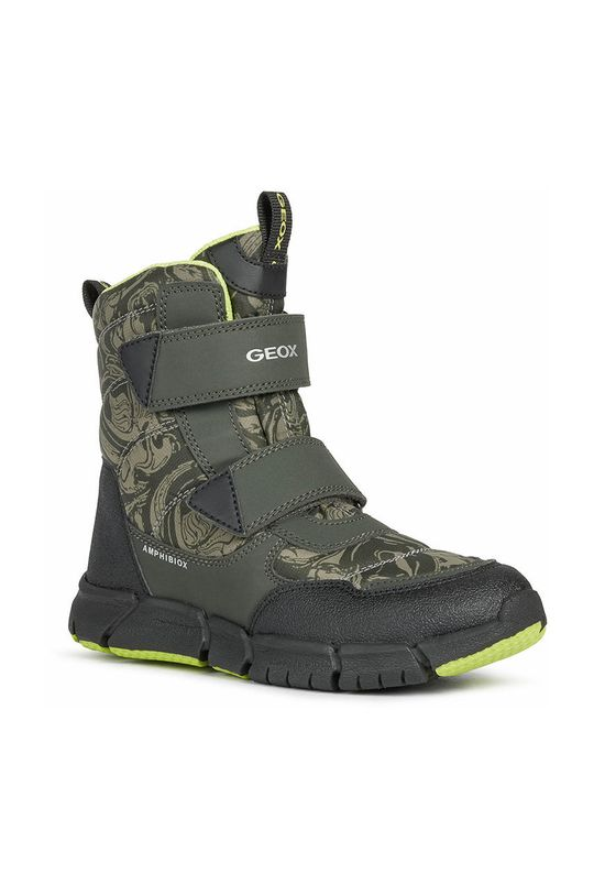 Geox - Buty dziecięce brudny zielony
