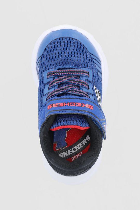 niebieski Skechers - Buty dziecięce