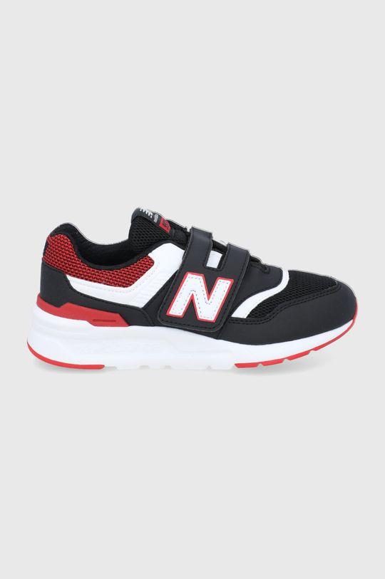 czarny New Balance - Buty dziecięce PZ997HMK Chłopięcy