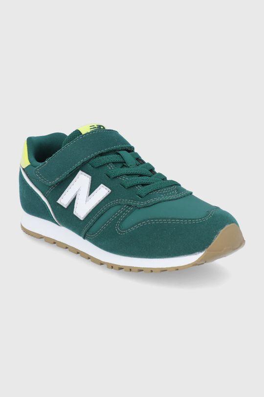 New Balance - Buty dziecięce YV373WG2 zielony
