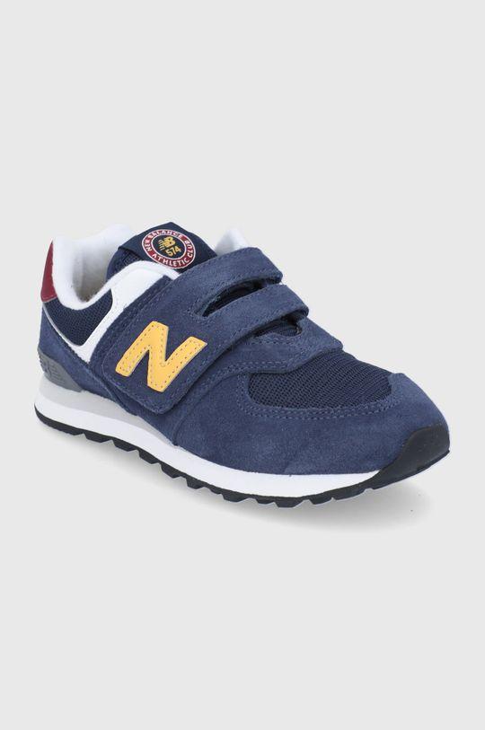 New Balance - Buty dziecięce PV574HW1 granatowy