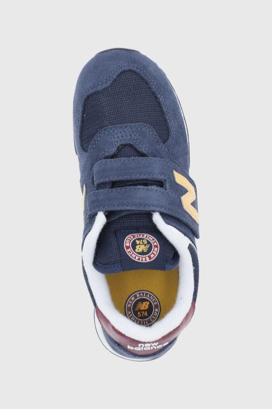 granatowy New Balance - Buty dziecięce PV574HW1