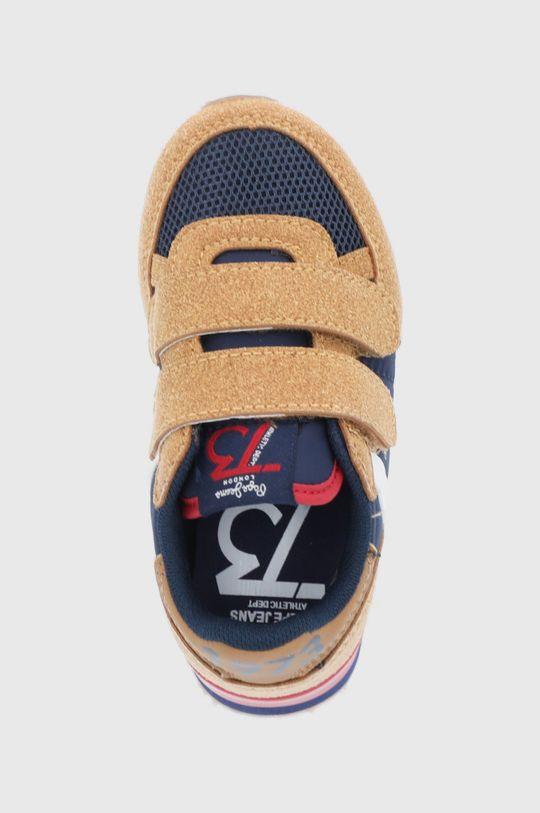 złoty brąz Pepe Jeans - Buty dziecięce Sidney Combi