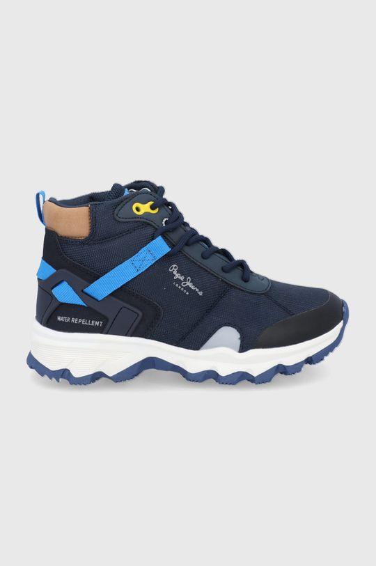 granatowy Pepe Jeans - Buty dziecięce Peak Trail Chłopięcy