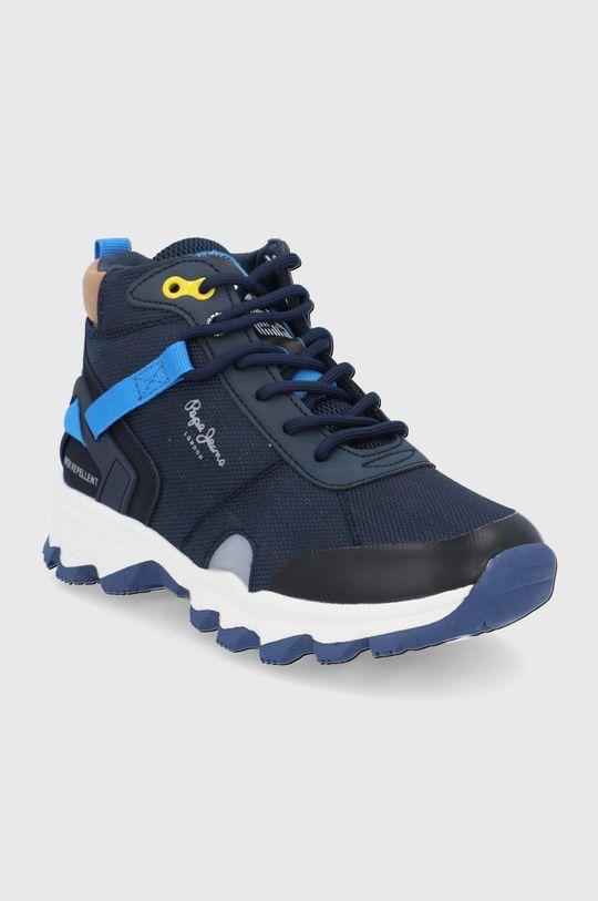 Pepe Jeans - Buty dziecięce Peak Trail granatowy