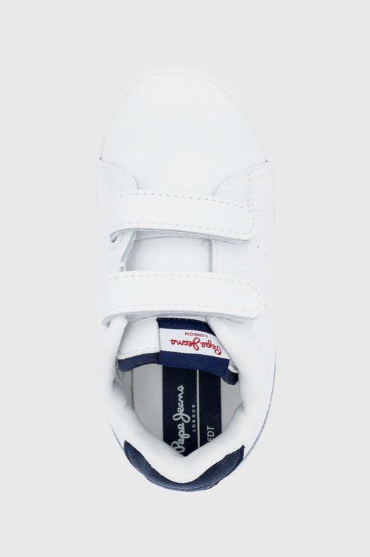 biały Pepe Jeans - Buty skórzane dziecięce Lambert