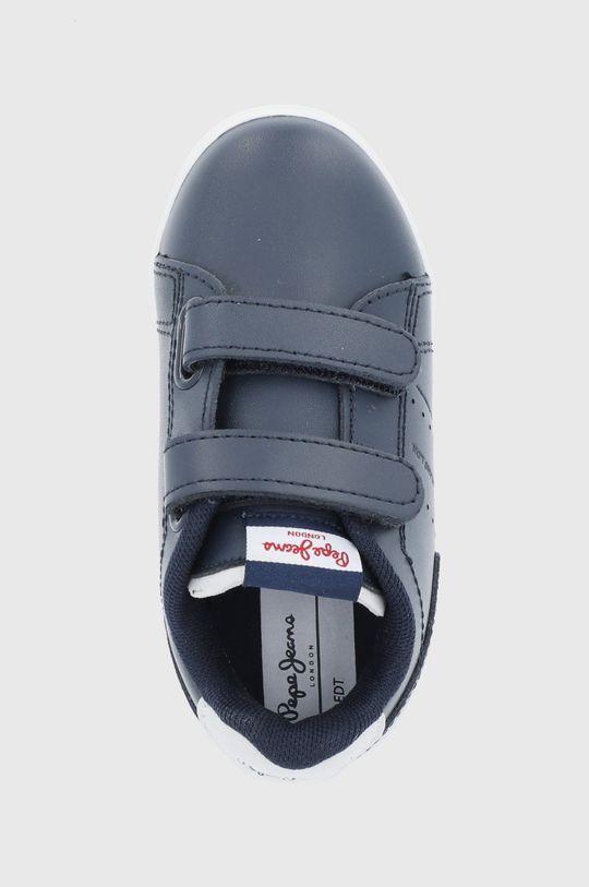granatowy Pepe Jeans - Buty skórzane dziecięce Lambert