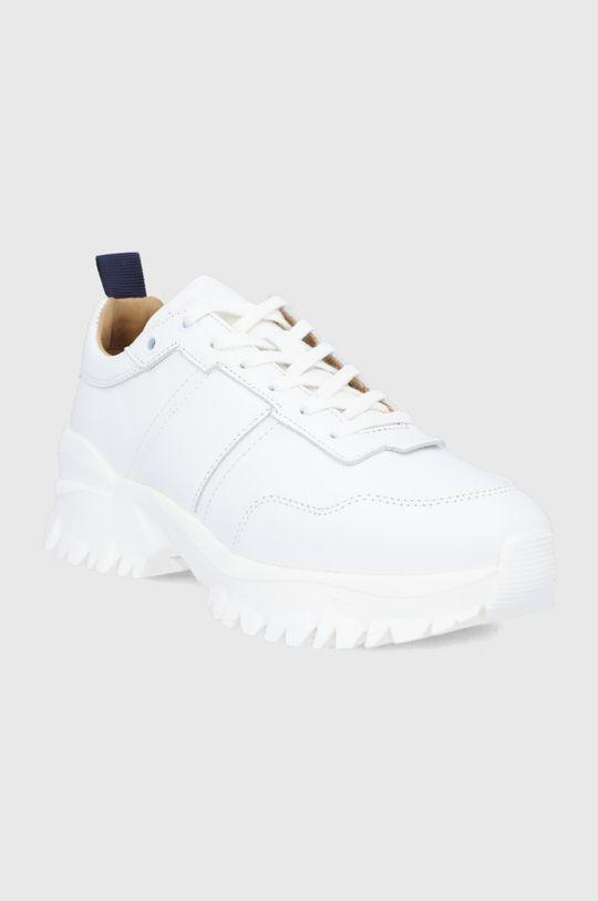 Tiger Of Sweden - Kožená obuv biela