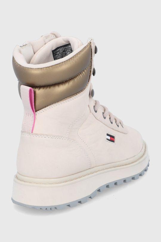 Tommy Jeans - Botki zamszowe Cholewka: Skóra zamszowa, Wnętrze: Materiał tekstylny, Podeszwa: Materiał syntetyczny