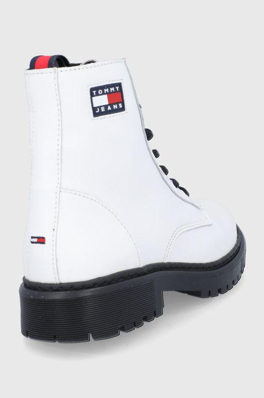 Tommy Jeans - Workery skórzane Cholewka: Skóra naturalna, Wnętrze: Materiał syntetyczny, Materiał tekstylny, Skóra naturalna, Podeszwa: Materiał syntetyczny