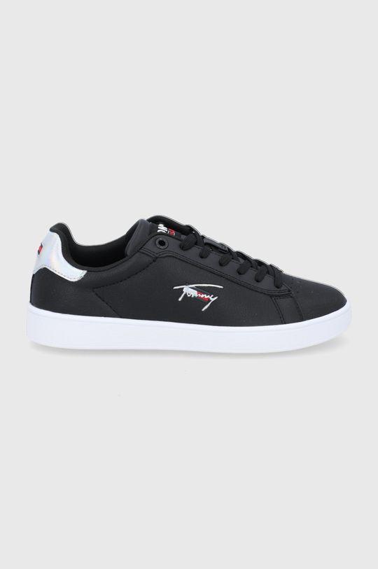 czarny Tommy Jeans - Buty Damski
