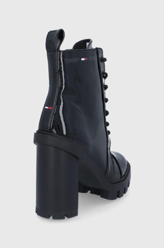 Tommy Jeans - Botki Cholewka: Materiał syntetyczny, Wnętrze: Materiał syntetyczny, Materiał tekstylny, Podeszwa: Materiał syntetyczny