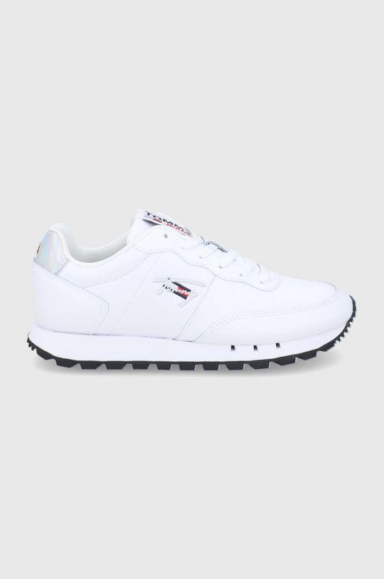 biały Tommy Jeans - Buty Damski