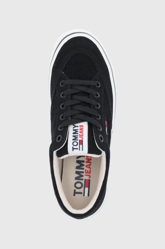 czarny Tommy Jeans - Tenisówki