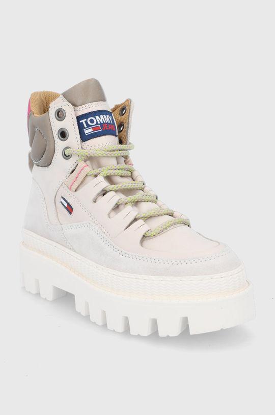 Tommy Jeans - Botki piaskowy