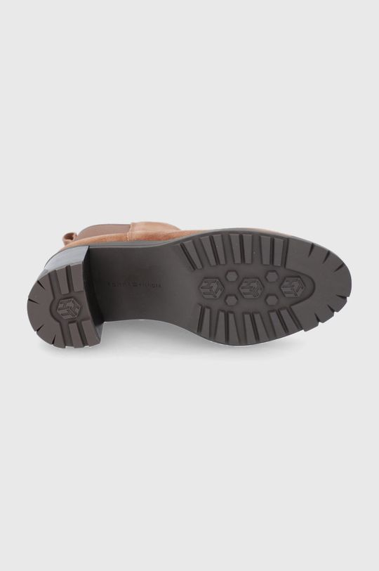 Tommy Hilfiger - Semišové kotníkové boty Dámský